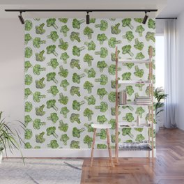 Broccoli - Scattered Wall Mural
