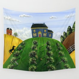 Hilly Heartland Wall Tapestry