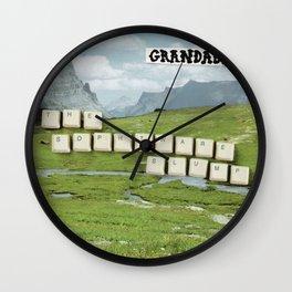 Grandaddy - The Sophtware Slump Wall Clock