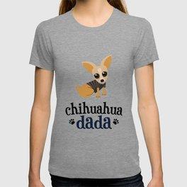 Chihuahua Dada Dad Pet Owner Dog Lover T-shirt
