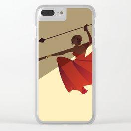 MU: battle cry Clear iPhone Case