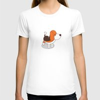 beagle T-shirts featuring Beagle by Paul Turcanu