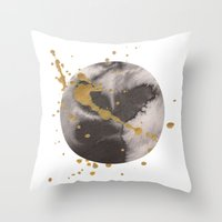 universe Throw Pillows featuring Universe by Dream Of Forest