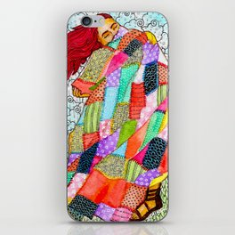 Quilted Like Klimt iPhone Skin