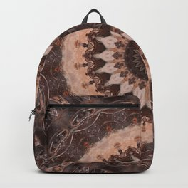 Mandala chocolate Backpack