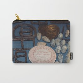 Belt buckles, iron musket bullets and perfume Carry-All Pouch
