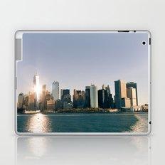 Morning over Manhattan Laptop & iPad Skin