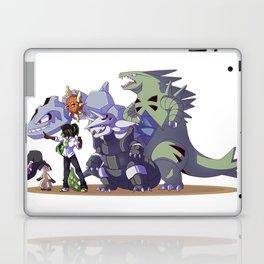 Pokémon trainer and team Laptop & iPad Skin