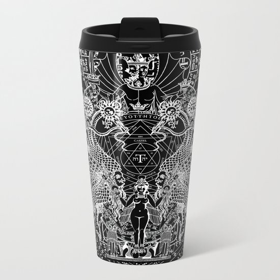 SIN OF IDOLATRY Metal Travel Mug