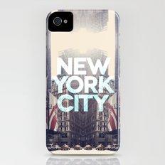 New York City 3 iPhone (4, 4s) Slim Case