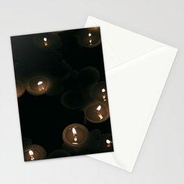 a dark light Stationery Cards