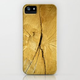 Oak Wood iPhone Case