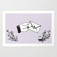 Snail Mail Love Art Print