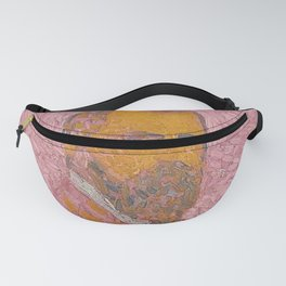 Self-Portrait of a Man in Rose by Cuno Amiet Fanny Pack