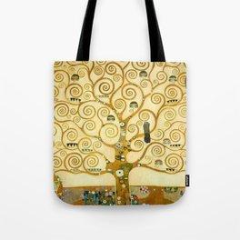 "Gustav Klimt ""Tree of life"" Tote Bag"