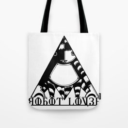 Robot Lover Tote Bag