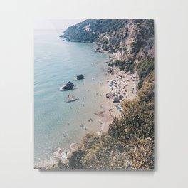 Myrtiotissa Beach - Corfu Metal Print