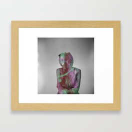 Creative Hiding Framed Art Print