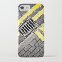 grid iPhone & iPod Cases featuring Grid by premedia