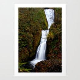 Bridal Veil Falls,Columbia River Gorge, OR. Art Print