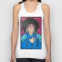 snl Tank Tops featuring SNL Mike Meyers as Linda Richman by Portraits on the Periphery