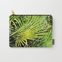 Green Palm Sound Carry-All Pouch