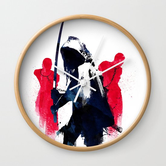 Michonne Wall Clock