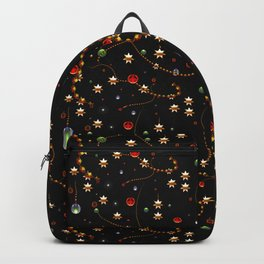 Pattern Christmas Time Backpack