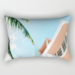 Miami Fresh Summer Day Rectangular Pillow
