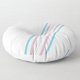 Transcend: On the Rise Floor Pillow