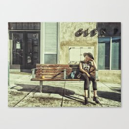 Waiting game Canvas Print