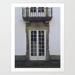 Casa do Passadiço Art Print