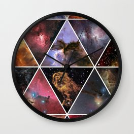 Galaxy magical Wall Clock