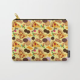Snacks on Snacks Carry-All Pouch