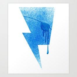 A Blind Neptune Art Print