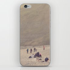 sandy sausages by the sea shore... iPhone & iPod Skin