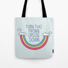Upside Frown Tote Bag
