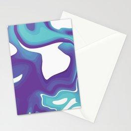 Liquid Marble Purple Shades 010 Stationery Cards