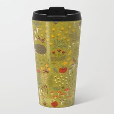 Hedgehog Meadow Metal Travel Mug