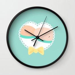 Heart Booty Wall Clock
