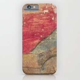 Reclining Nude by Paul Gauguin. iPhone Case