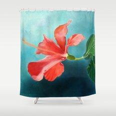 January Blues Shower Curtain