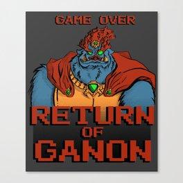 Return of Ganon Canvas Print