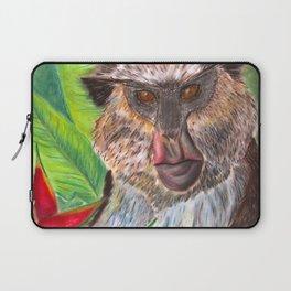 Mona Monkey Laptop Sleeve
