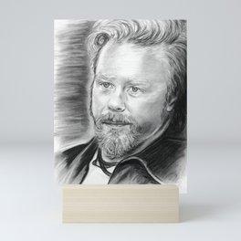 James Mini Art Print