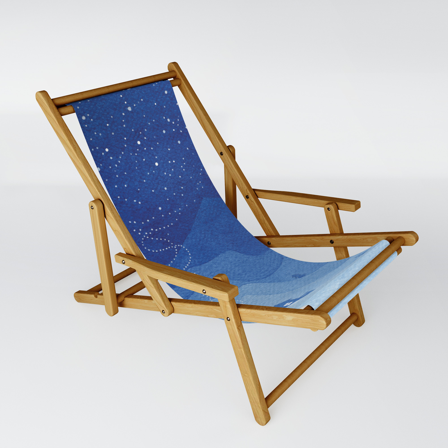 Stars Factory Blue Sling Chair By Vapinx