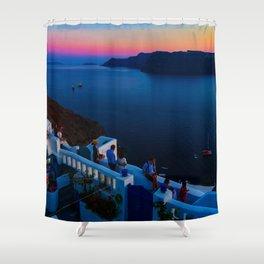 Oia Shower Curtain