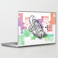 goat Laptop & iPad Skins featuring Goat  by LSjoberg
