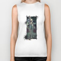 walking dead Biker Tanks featuring Walking Dead by kcspaghetti