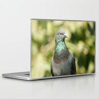 pigeon Laptop & iPad Skins featuring Pigeon by Vishal Wadhwani